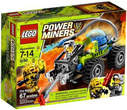 LEGO Power Miners Fire Blaster Set #8188