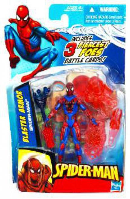 Spider-Man 2010 Blaster Armor Spider-Man Action Figure