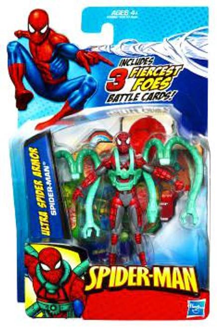 Spider-Man 2010 Ultra Spider Armor Spider-Man Action Figure