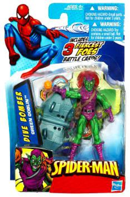 Spider-Man 2010 Dive Bomber Green Goblin Action Figure