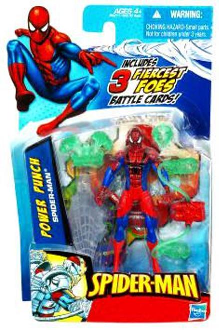 Spider-Man 2010 Power Punch Spider-Man Action Figure