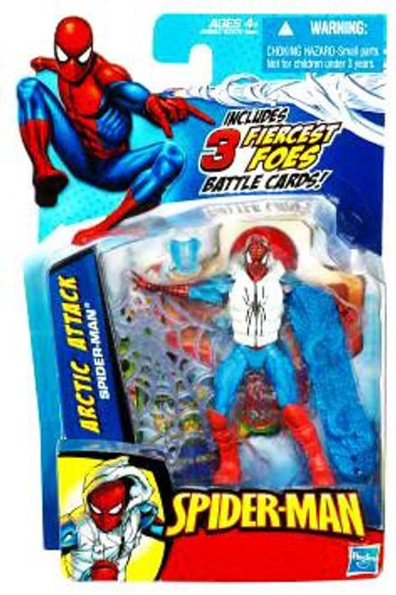 Spider-Man 2010 Arctic Attack Spider-Man Action Figure