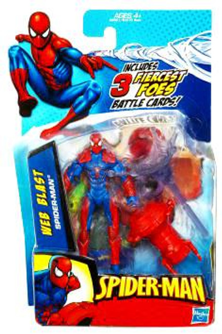 Spider-Man 2010 Web Blast Spider-Man Action Figure