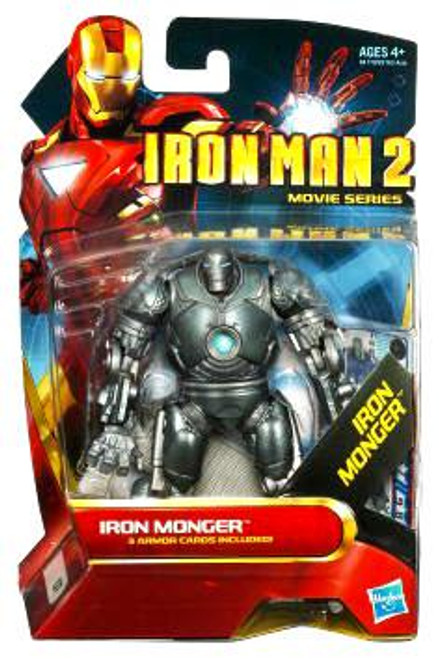 Iron Man 2 Movie Series Iron Monger Action Figure #7