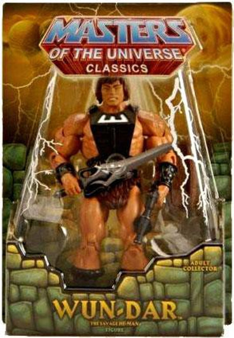 Masters of the Universe Classics Club Eternia Wun-Dar Exclusive Action Figure