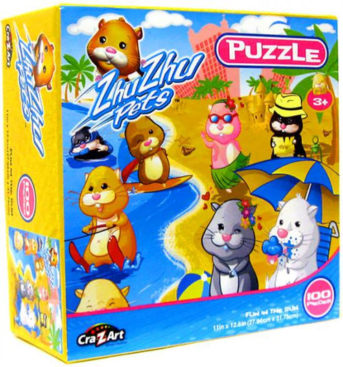 Zhu Zhu Pets Fun In The Sun Puzzle [100 pieces]