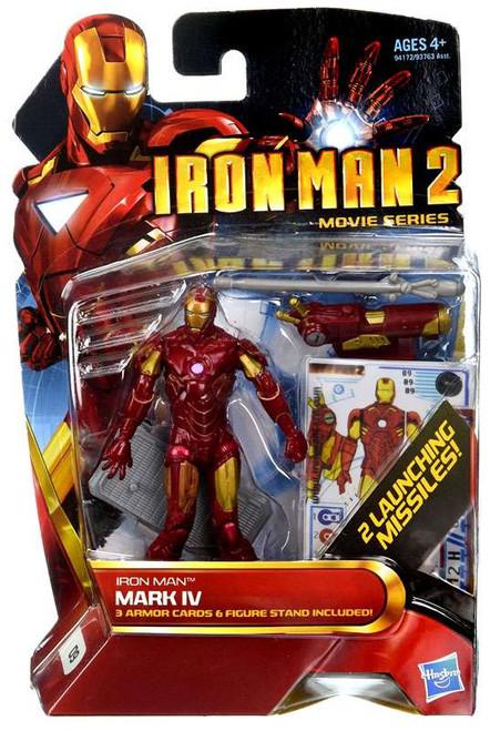 Iron Man 2 Movie Series Iron Man Mark IV Action Figure #9