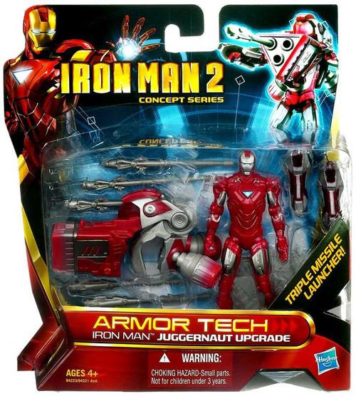 Iron Man 2 Concept Series Armor Tech Iron Man Juggernaut Upgrade Action Figure