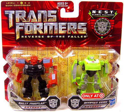 Transformers Revenge of the Fallen Exclusives NEST Global Alliance Exclusive Deluxe Action Figure 2-Pack