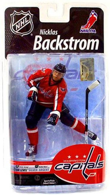 McFarlane Toys NHL Washington Capitals Sports Picks Series 25 Nicklas Backstrom Exclusive Action Figure [Red Jersey]