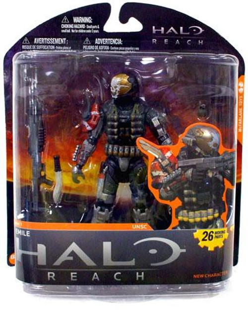 McFarlane Toys Halo Reach Series 1 Emile Action Figure