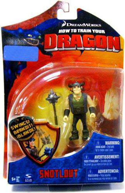 How to Train Your Dragon Series 1 Snotlout Exclusive Action Figure