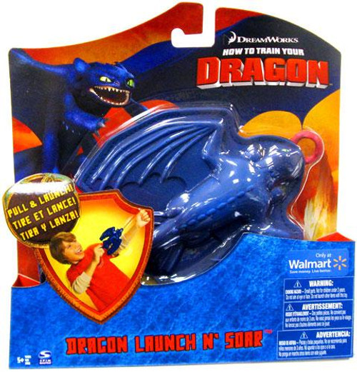 How to Train Your Dragon Dragon Launch N' Soar Night Fury Action Figure [Toothless]