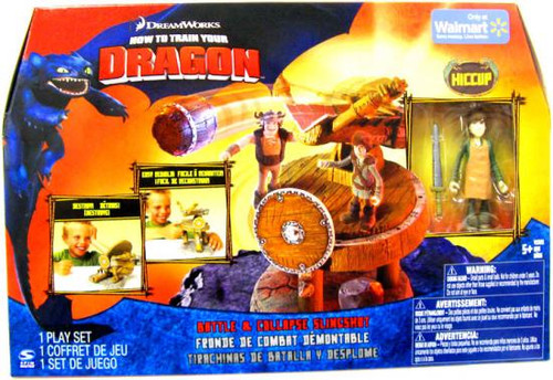 How to Train Your Dragon Battle & Collapse Slingshot Exclusive [Hiccup with Apron]