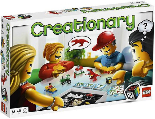 LEGO Games Creationary Board Game #3844