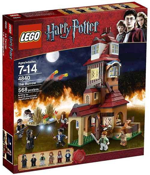 LEGO Harry Potter Series 2 The Burrow Set #4840