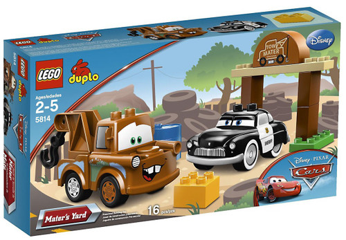LEGO Disney Cars Duplo Cars Mater's Yard Set #5814