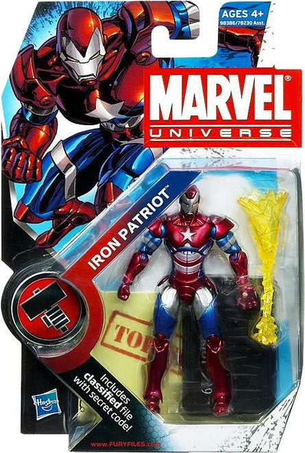 Marvel Universe Series 9 Iron Patriot Action Figure #19 [Helmet On]