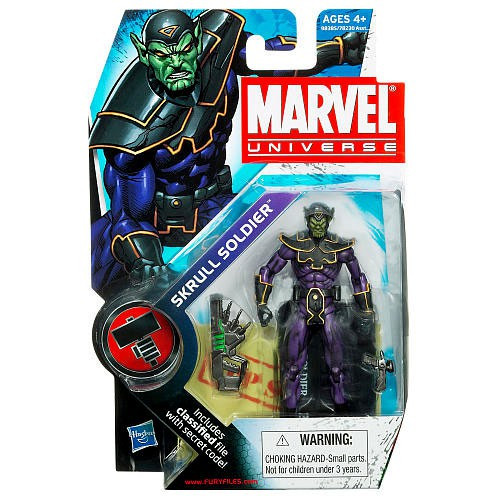 Marvel Universe Series 9 Skrull Soldier Action Figure #24