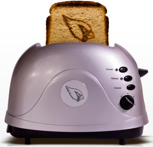 NFL ProToast Retro Arizona Cardinals Toaster
