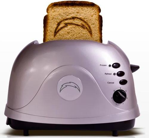 NFL ProToast Retro San Diego Chargers Toaster