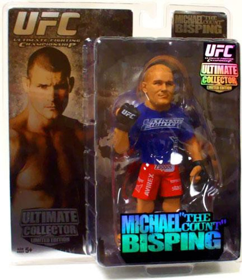 UFC Ultimate Collector Series 2 Michael Bisping Action Figures [Limited Edition]