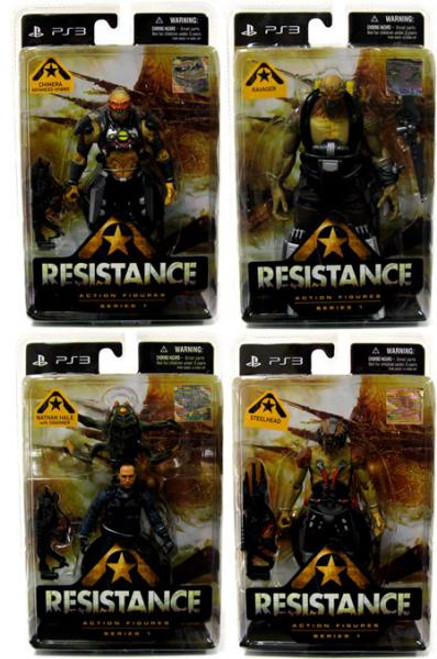 Resistance Set of 4 Action Figures