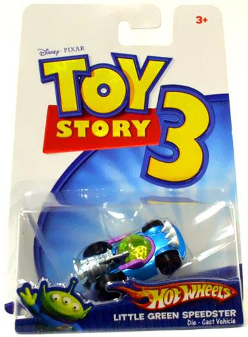 Toy Story 3 Hot Wheels Little Green Speedster Diecast Vehicle