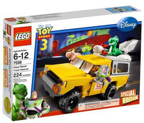 LEGO Toy Story 3 Pizza Planet Truck Rescue Exclusive Set #7598
