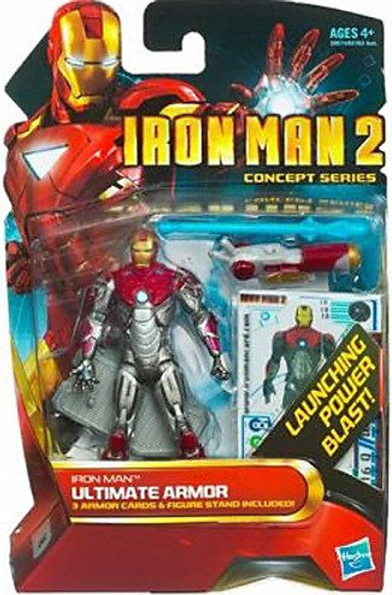 Iron Man 2 Concept Series Ultimate Armor Iron Man Action Figure #18