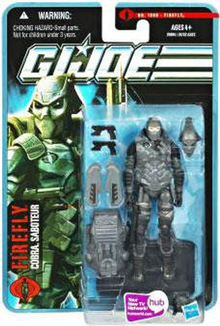 GI Joe Pursuit of Cobra Firefly Action Figure