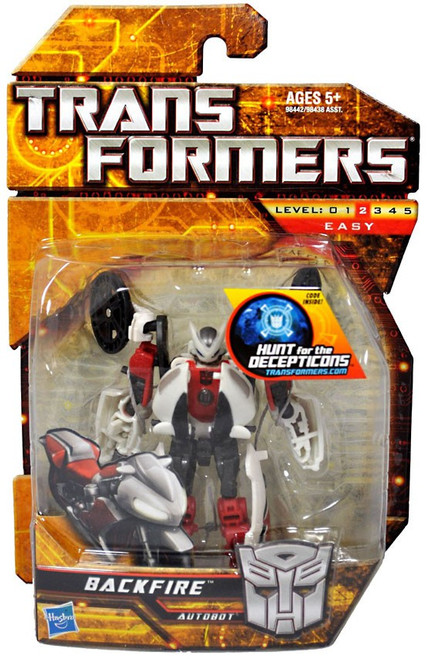 Transformers Hunt for the Decepticons Backfire Scout Action Figure