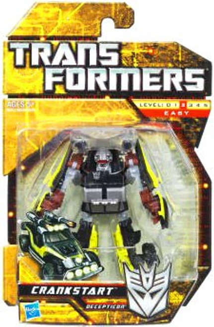 Transformers Hunt for the Decepticons Crankstart Scout Action Figure