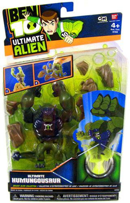 Ben 10 Ultimate Alien Deluxe Alien Collection Ultimate Humungousaur Action Figure