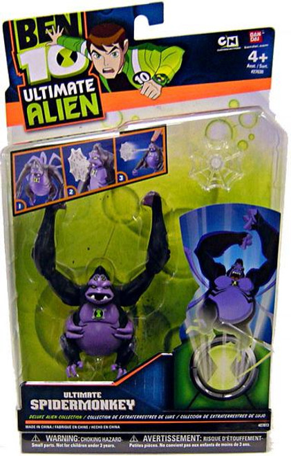 Ben 10 Ultimate Alien Deluxe Alien Collection Ultimate Spidermonkey Action Figure