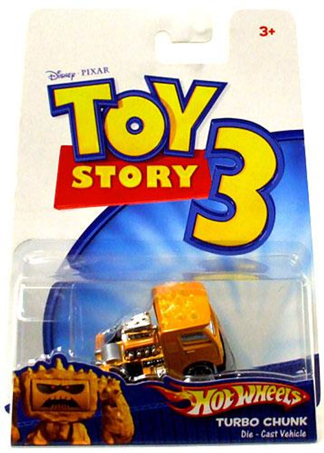 Toy Story 3 Hot Wheels Turbo Chunk Diecast Vehicle