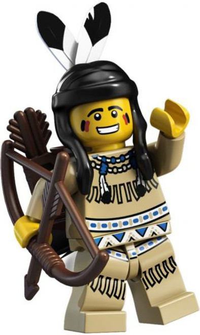 LEGO Minifigures Series 1 Tribal Hunter Minifigure [Loose]