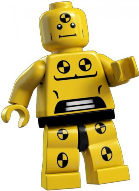 LEGO Minifigures Series 1 Demolition Dummy Minifigure [Loose]