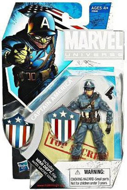 Marvel Universe Exclusives Captain America Exclusive Action Figure [Ultimate]