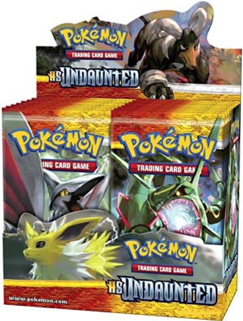 Pokemon HeartGold & Soulsilver Undaunted Booster Box [36 Packs] [Sealed]
