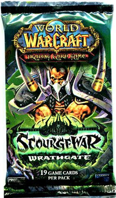 World of Warcraft Trading Card Game Scourgewar: Wrathgate Booster Pack