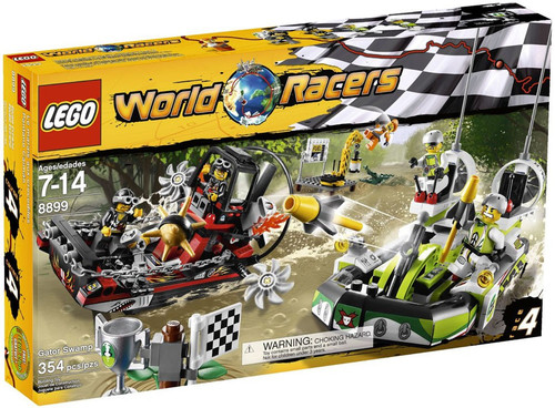 LEGO World Racers Gator Swamp Set #8899