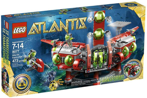 LEGO Atlantis Exploration HQ Set #8077