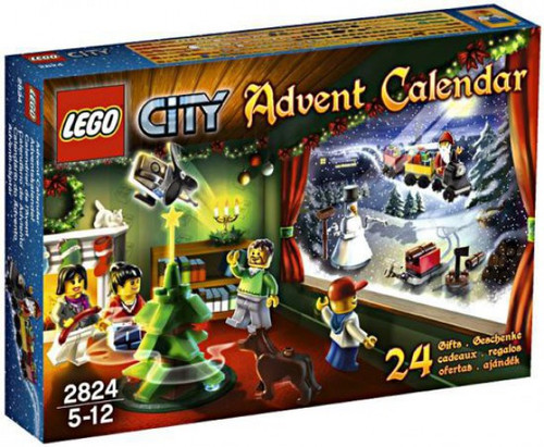 LEGO City 2010 Advent Calendar Set #2824