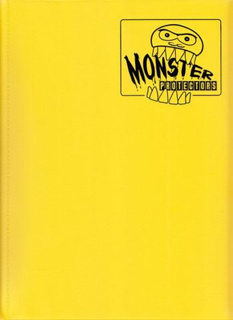 Card Supplies Matte Yellow 9-Pocket Binder