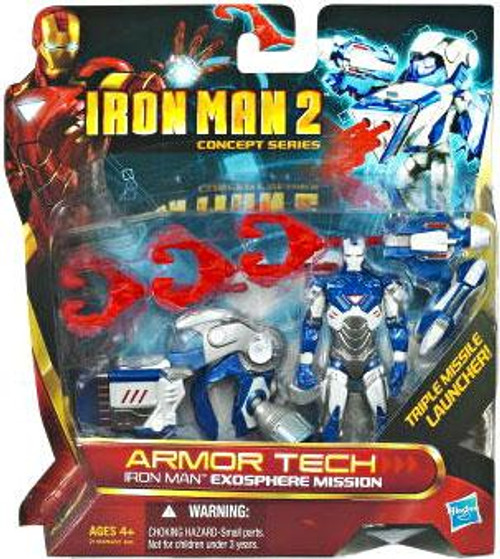 Iron Man 2 Concept Series Armor Tech Iron Man Exosphere Mission Action Figure