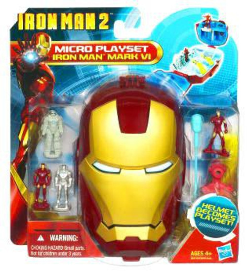 Iron Man 2 Movie Series Iron Man Mark VI Micro Playset
