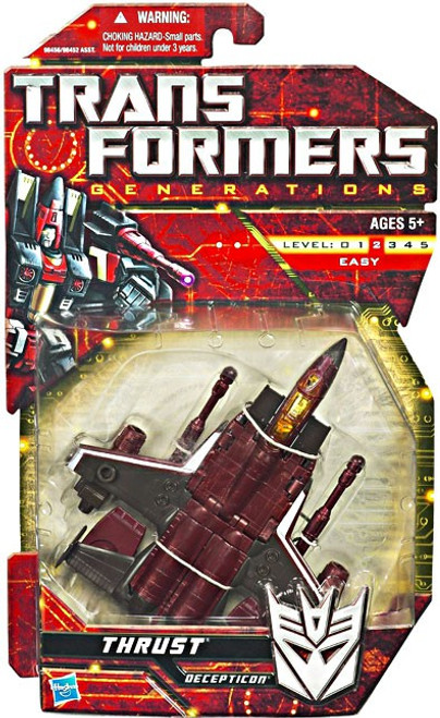 Transformers Generations Deluxe Thrust Deluxe Action Figure