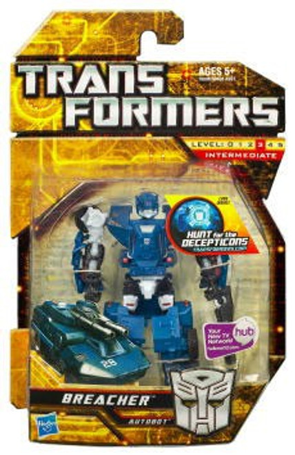 Transformers Hunt for the Decepticons Breacher Scout Action Figure