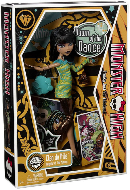 Monster High Dawn of the Dance Cleo De Nile 10.5-Inch Doll [Orange Package]